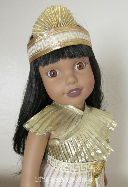Global Friends Aziza - Egyptian doll with national dress and headband