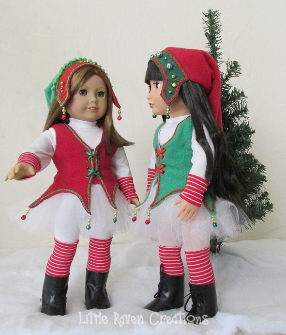 Em and May Lee as Elves